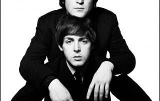 Paul McCartney and John Lennon Meet