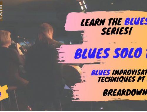 Learn Blues Improvisation Solo – No. 2