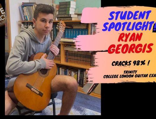Student Spotlight – Ryan Georgis Nails 98% in Exam!