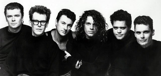 Picture of band INXS