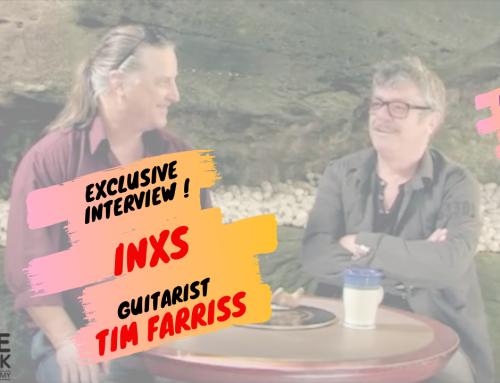 """My Interview with INXS Tim Farriss – Plus """"New Sensation"""" & """"Never Tear Us Apart"""" Guitar Lessons."""