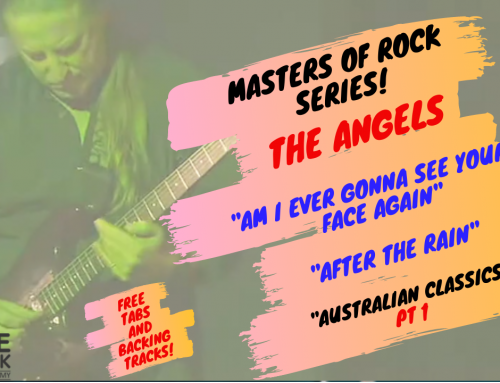 """Guitar Tutorial: The Angels Pt 1 """"Am I Ever Gonna See Your Face Again"""" – """"After The Rain"""""""
